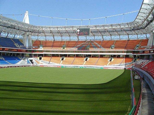 Схема территории стадиона