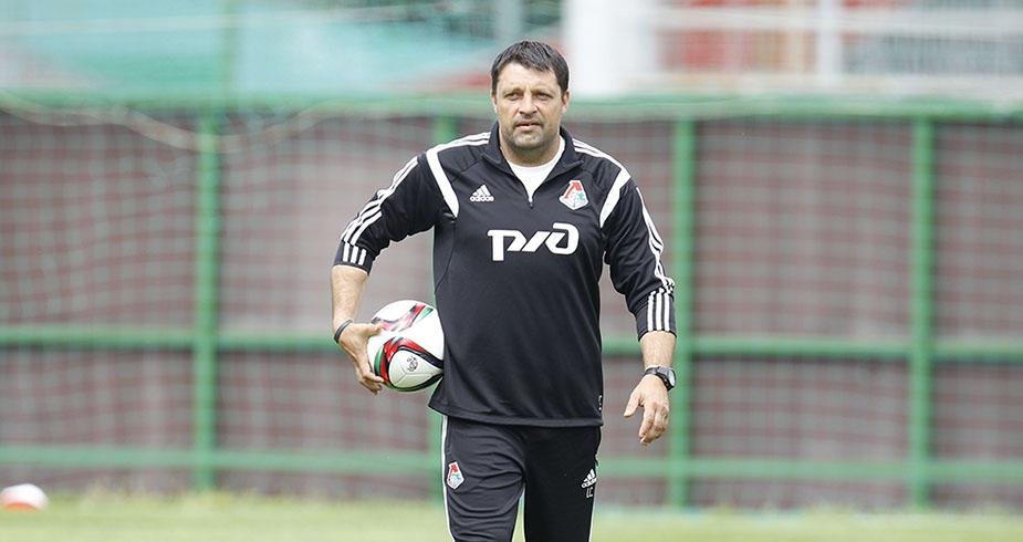 Черевченко: «Локомотив» работает над игрой первым номером